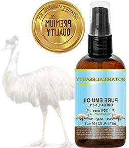 100% PURE EMU OIL. PREMIUM for FACE, BODY, HANDS, FEET, NAIL