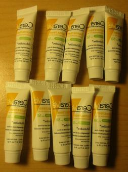 10X CeraVe sunscreen SPF 50 face lotion lightweight & oil fr