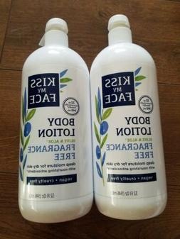 2 olive and aloe fragrance free body