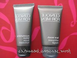 2 pc Set Clinique For Men Moisturizing Lotion ~Face Wash 3.1