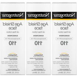3 Pack Neutrogena Age Shield Face Oil Free Lotion Sunscreen