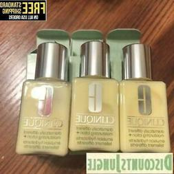 3 x Clinique Dramatically Different Moisturizing Lotion 1oz
