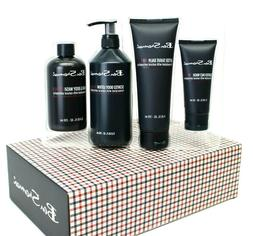 Ben Sherman, 4 Piece Body Care Gift Set for Him, NEW AND SEA