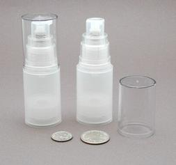 4 sm Empty refillable Airless Lotion Treatment Pump Cosmetic