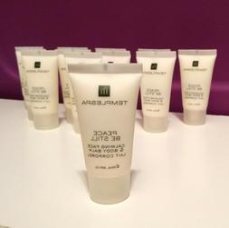 8 TEMPLE SPA Lotion Lot Peace Be Still Calming Face Hand Tem