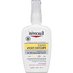 Eucerin Daily Protection Moisturizing  Face Lotion, SPF 30,