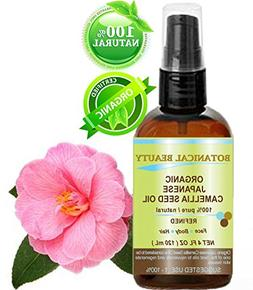 Japanese ORGANIC CAMELLIA Seed Oil. 100% Pure / Natural / Un