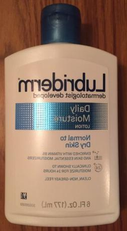 Lubriderm Daily Moisture Lotion 6 oz Normal to Dry Skin