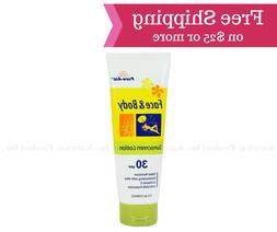 Pure-Aid Sunscreen Lotion with Aloe for Face and Body, 30 SP