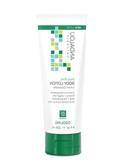 Body Lotion Aloe Mint - Andalou Naturals - 8 oz - Lotion