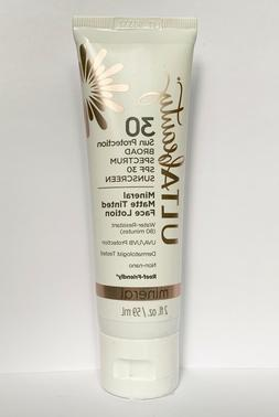 beauty mineral matte tinted face lotion broad