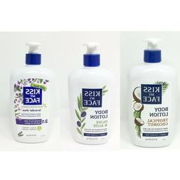 KISS MY FACE Body Lotion 16oz choose Tropical Coconut Olive