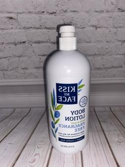 Kiss My Face Body Lotion Fragrance Free Olive And Aloe 32oz
