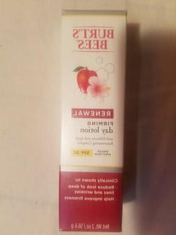 Burt's Bees Renewal Firming Day Lotion 2.0oz