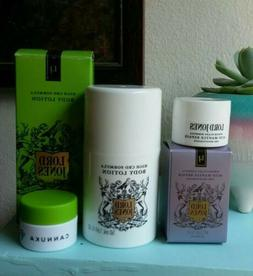 LORD JONES + CANNUKA Lot ~ Acid Mantle Face Moisturizer, Bod