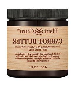 Carrot Butter 4 oz. 100% Pure Raw Fresh Natural Cold Pressed