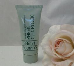 Clinique City Block Sheer SPF 15 Oil Free Daily Face Protect