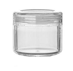 3PCS 20ML 0.68oz Clear Plastic Empty Jar Packaging Bottles S