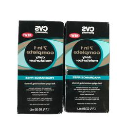 CVS ,7 in 1 complete daily moisturizer fragrance free anti-a