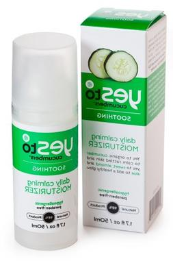 Yes To Cucumbers Face - Daily Calming Moisturiser 50Ml