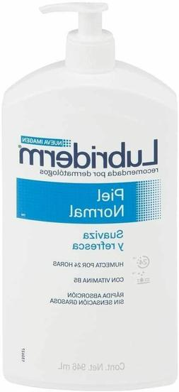Lubriderm Daily Moisture Lotion Normal To Dry Skin 32 Oz