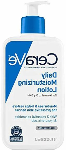 CeraVe Daily Moisturizing Lotion | 12 Ounce | Face Body Loti