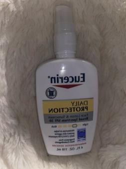 Eucerin Daily Protection Moisturizing Face Lotion Broad Spec
