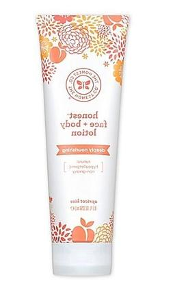 Honest 8.5 oz. Face + Body Lotion Deeply Nourishing in Apric