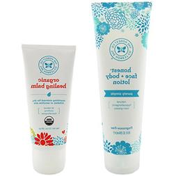 The Honest Company Face + Body Lotion 8.5 oz. & Organic All-