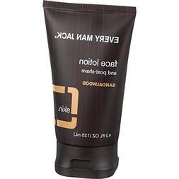 Every Man Jack Face Lotion and Post Shave - Sandalwood - 4.2