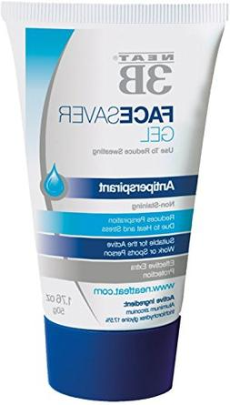Neat Feat 3B Face Saver Antiperspirant Gel for Facial Perspi