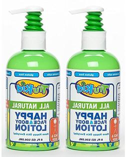 Trukid Happy Face and Body Moisturizing Lotion, Light Citrus