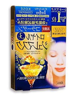 KOSE COSMEPORT CLEAR TURN Premium Royal Jelly Mask