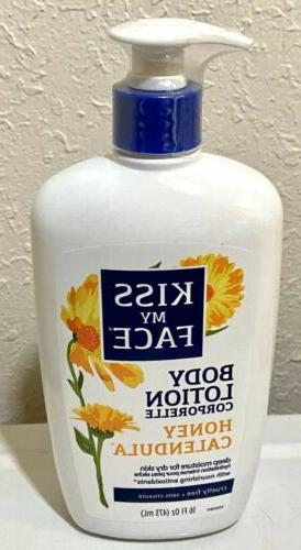 2 KISS MY FACE Calendula Lotion Pump OUT OF