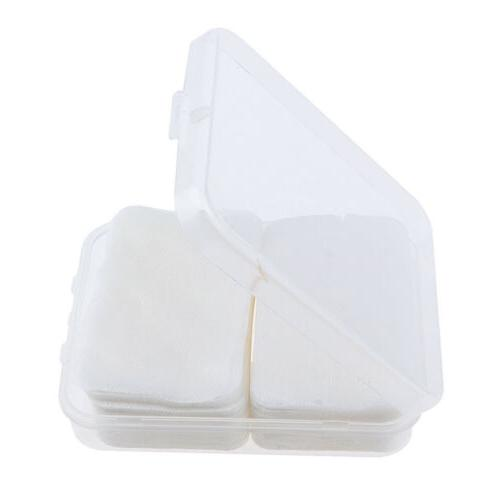 200x Disposable Cotton Square Pads Wipe for Applying Lotion