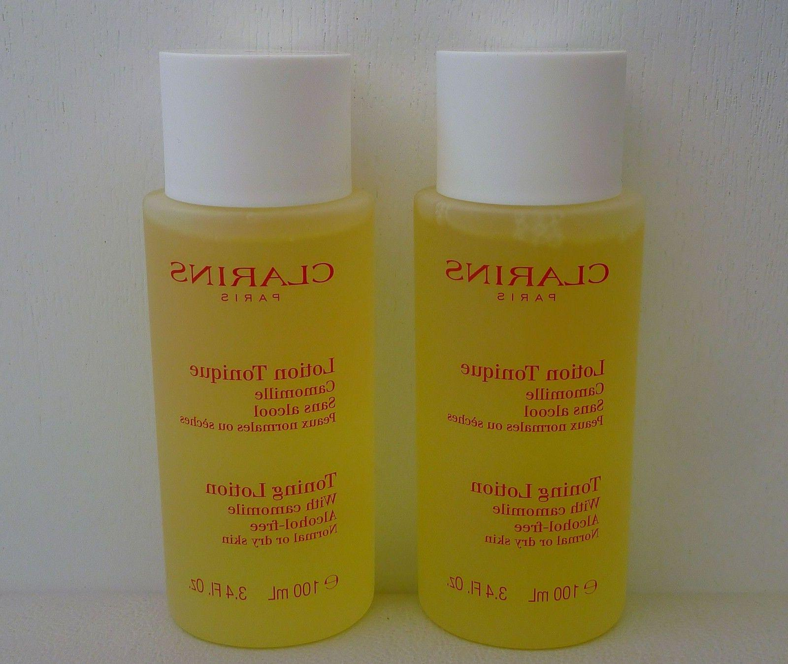 set of 2 toning lotion with camomile