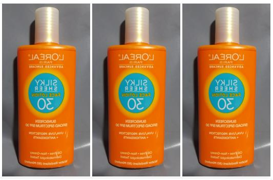Sunscreen Silky Sheer BB Face Lotion or SPF