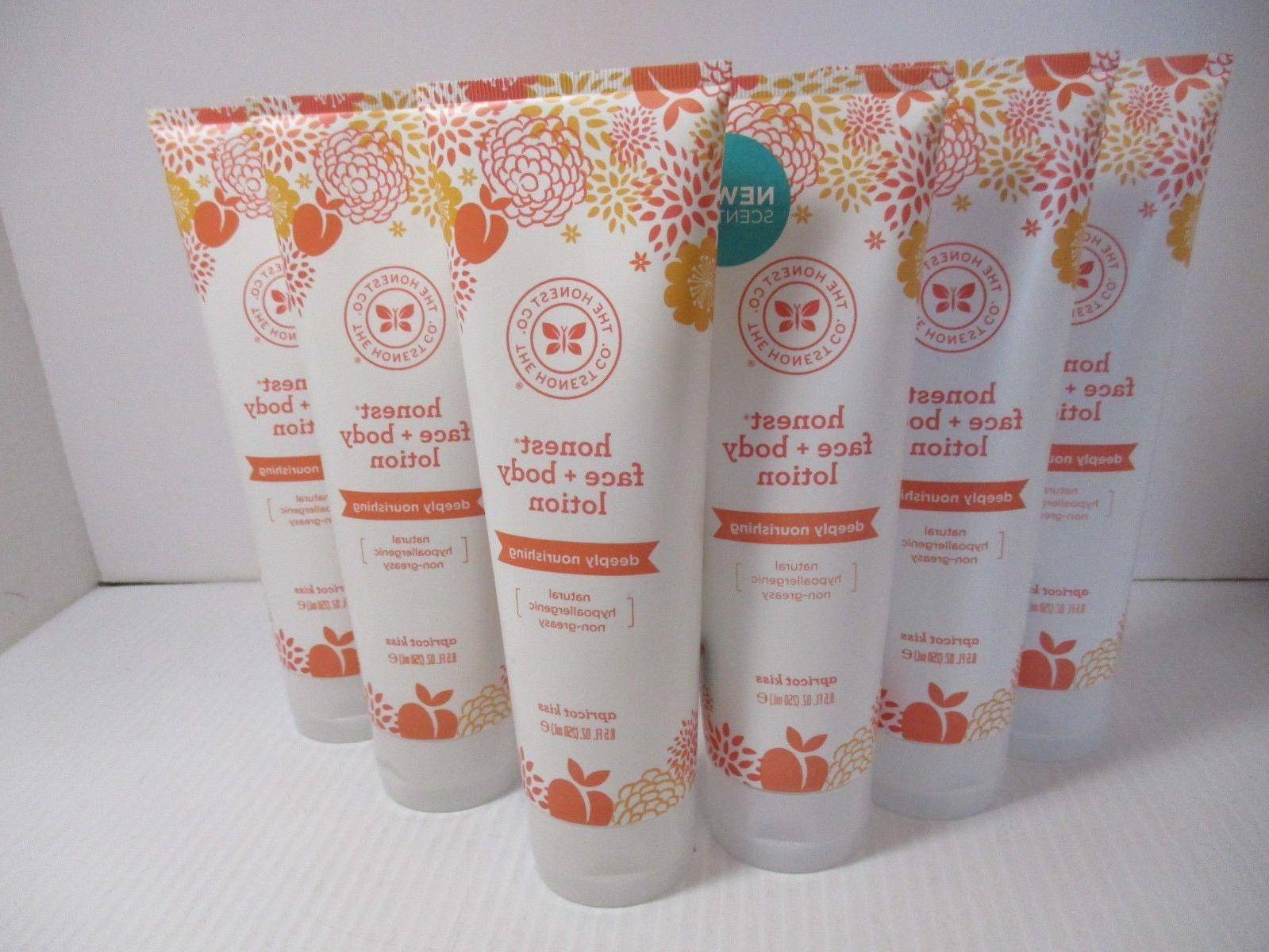 6 face body lotion deeply nourishing apricot