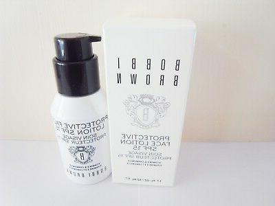 Bobbi Brown Protective Face Lotion SPF15 50ml new in box