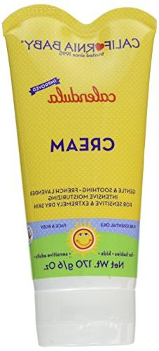 California Baby Cream - Calendula - 6 oz