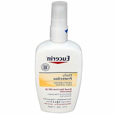 Eucerin Daily Protection Moisturizing Face Lotion, SPF 30, 4
