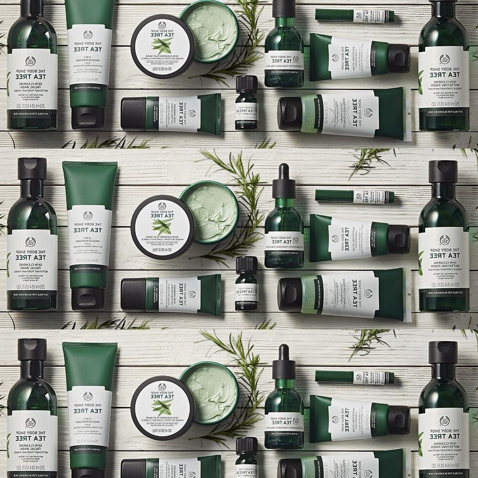 FREE SHIPPING! ❤️ The Body Shop Tea Tree Lotion, Oil, To