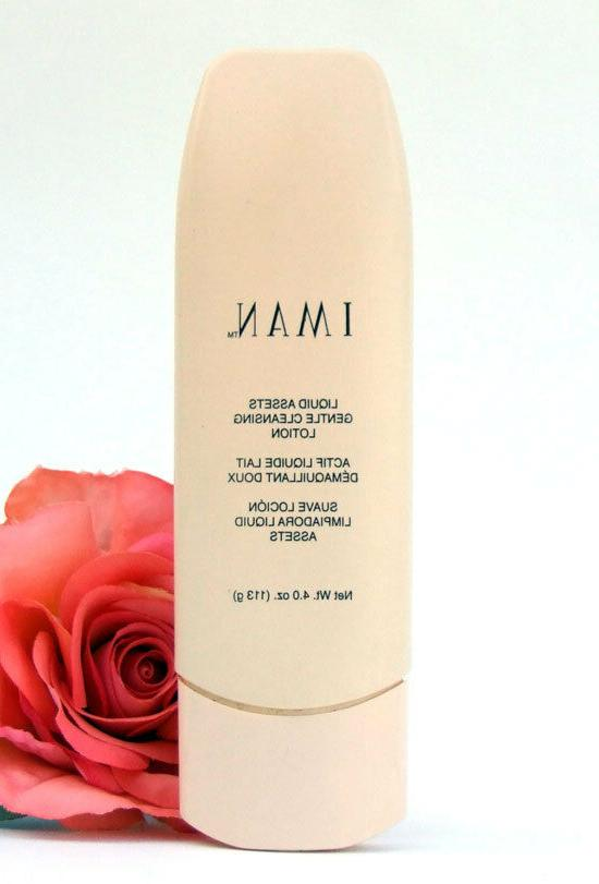 IMAN Liquid Assets Gentle Cleansing Lotion 4 oz Skin Cleanse