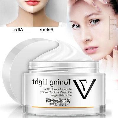MENGXILAN Toning Light Face & Body Whitening Cream for All S