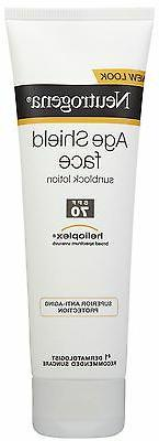 Neutrogena Age Shield Face Sunblock Lotion Sunscreen SPF 70
