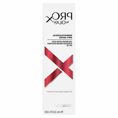 Olay ProX Age Repair Lotion Face Moisturizer with Sunscreen,