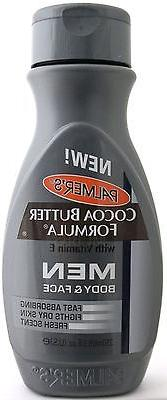 PALMER'S COCOA BUTTER FORMULA MEN BODY & FACE LOTION WITH VI