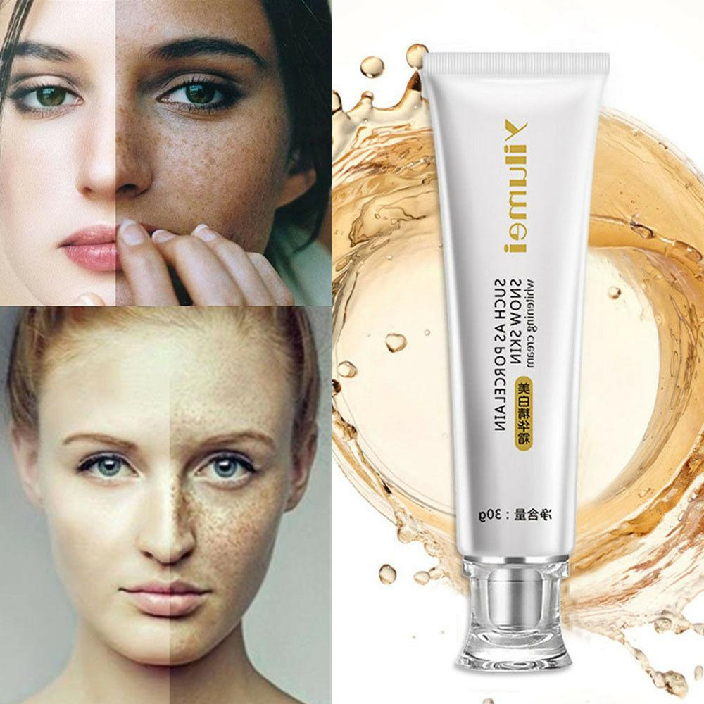 Powerful Instant Whitening Lotion Bleaching Freckles Cream D