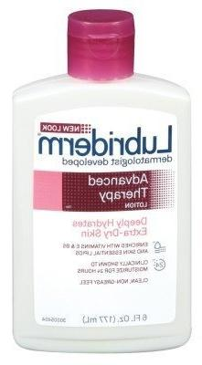 Lubriderm Advanced Therapy Body Lotion, 6 Ounce - 2 per case