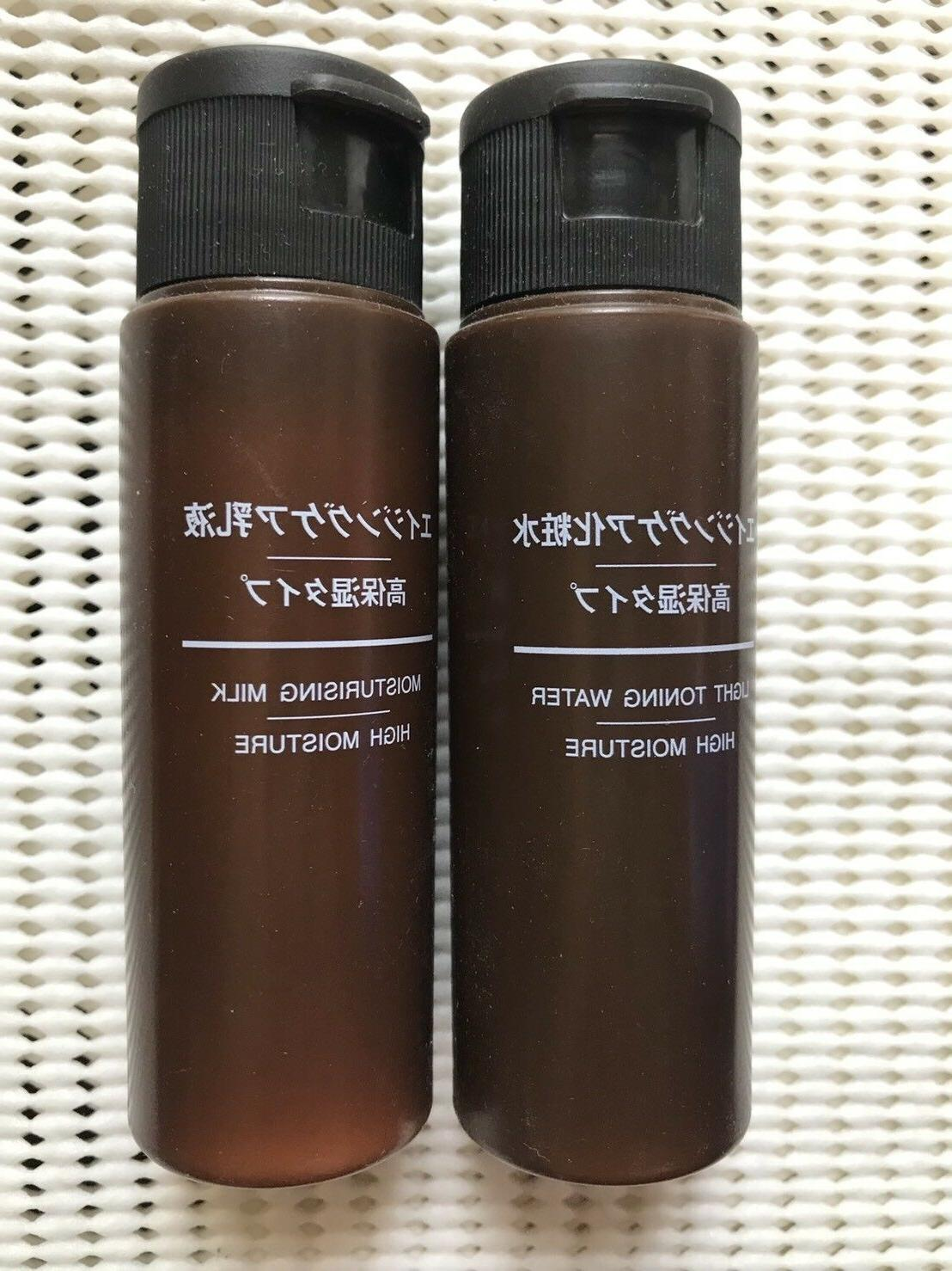 MUJI Aging Care Toner and milky lotion high moisture type po